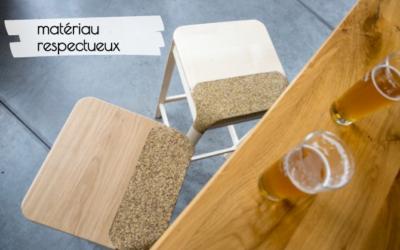 Mobilier brassé : un tabouret issu du brassage de la bière
