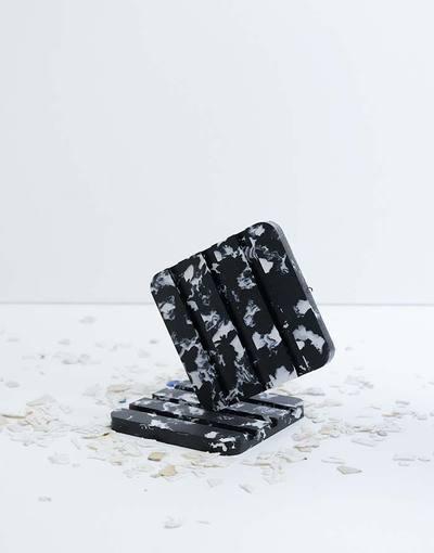 Porte savon en plastique recyclé Nuit