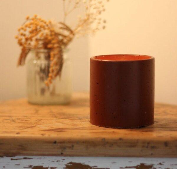 Bougie Palabrine et pot en Wasterial