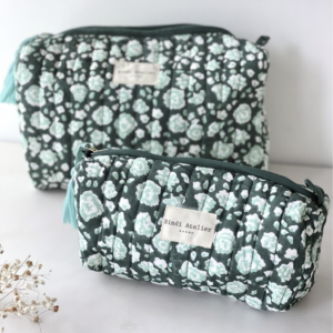 Trousse Puja Turquoise