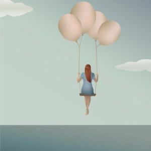 Carte Balloon dream