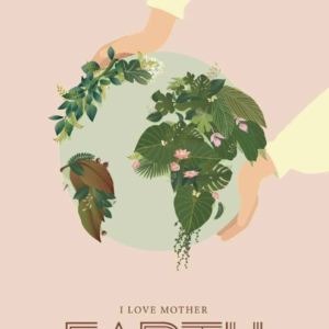 Carte I Love Mother Earth