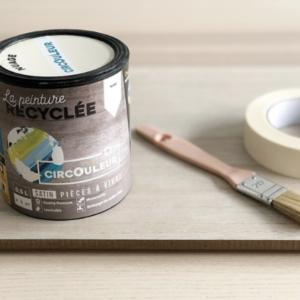 Peinture recyclée circouleur