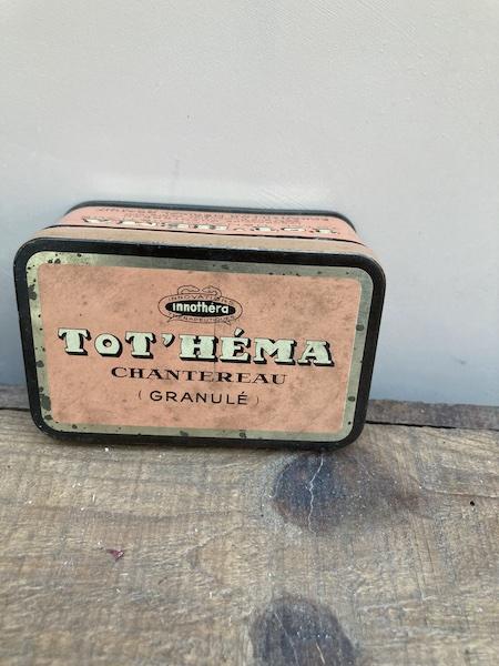 Boite ancienne Tot'Héma