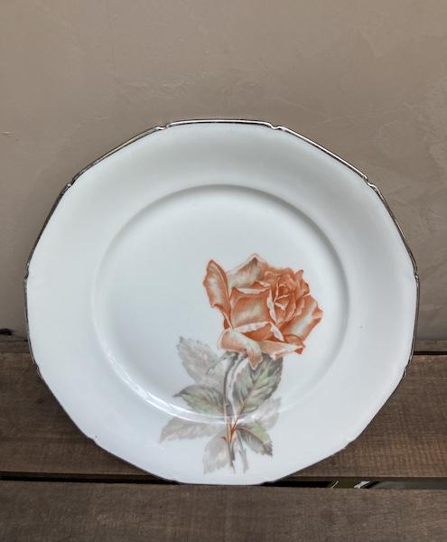 Lot 3 de assiettes en Porcelaine de Lamotte