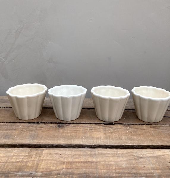 Moules à muffin en céramique