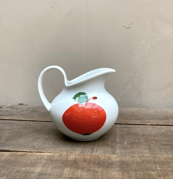 Pot à lait Bavaria pomme rouge