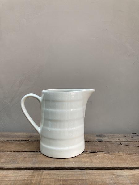 Broc céramique blanc 1L