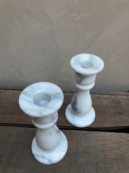 Bougeoir en marbre