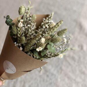 Mini bouquet de fleurs séchées Green Addict