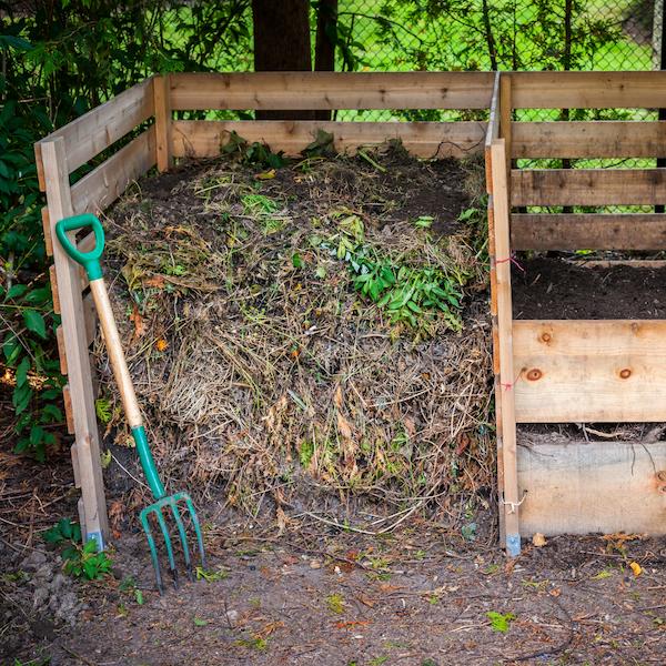 Bac compost jardin