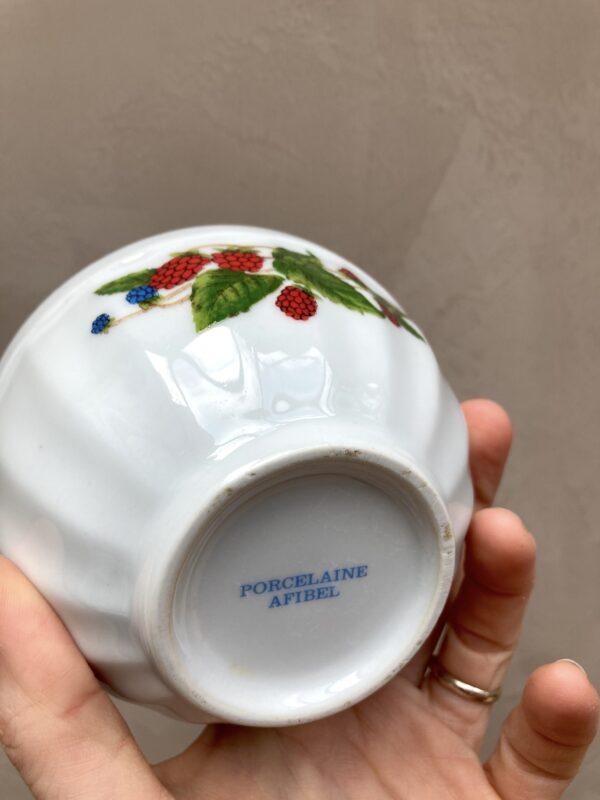 Bol en porcelaine Afibel