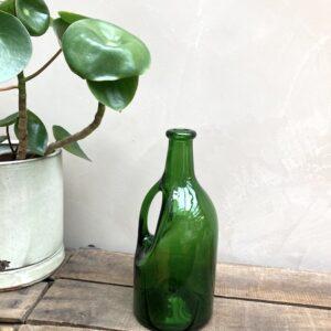 Bouteille en verre vert