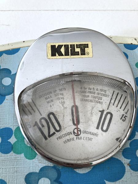 Pèse-personne Vintage Kilt