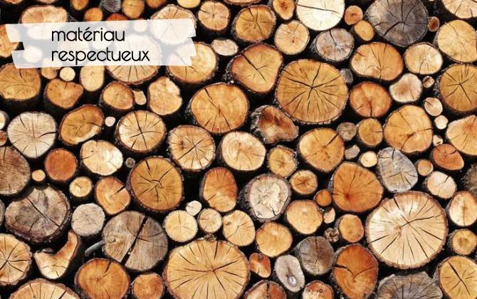 Le bois matériau respectueux