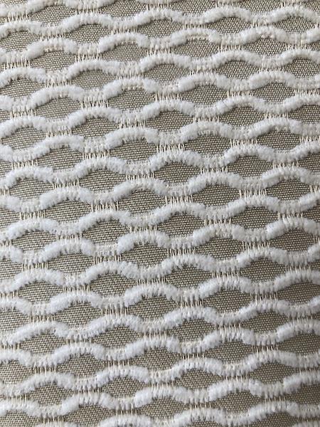 Coussin 50x50 Beige Casal motifs vagues