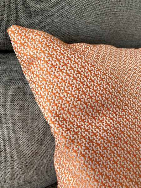 Coussin Orange 50 x 50 cm