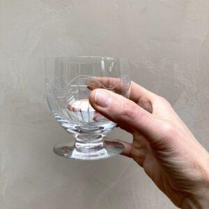 Lot de 2 verres en cristal 9 cm