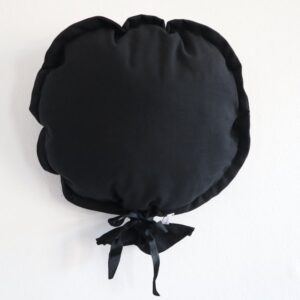 Ballon décoratif en tissu noir