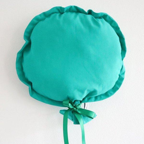 Ballon décoratif en tissu vert