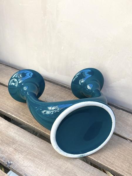 Bougeoir Bleu