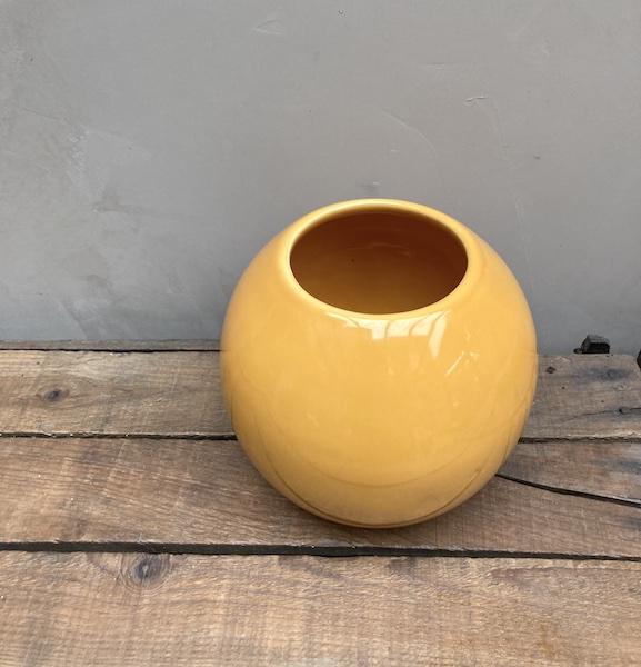 Vase Boule orange